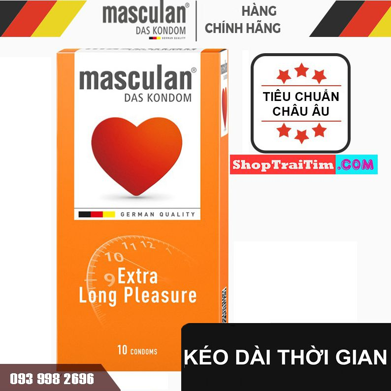 Bao Cao Su Masculan Long Pleasure kéo dài 2