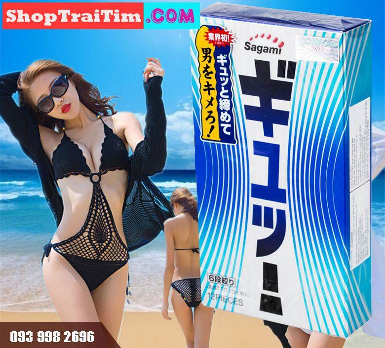 bao cao su sagami tight fit 1