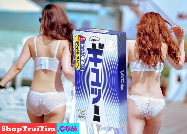 bao cao su sagami tight fit 4