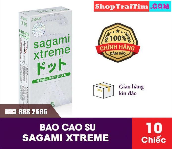 bao cao su Sagami Xtreme Dot phiên bản mới 3