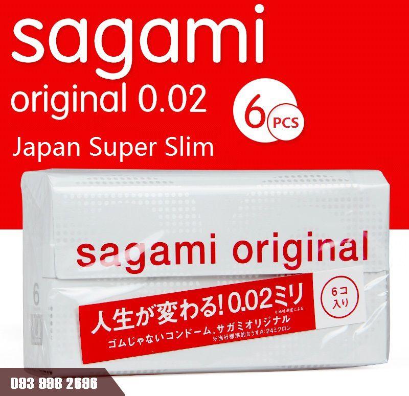 bao cao su siêu mỏng sagami original 0.02 hàng nhật bản 4