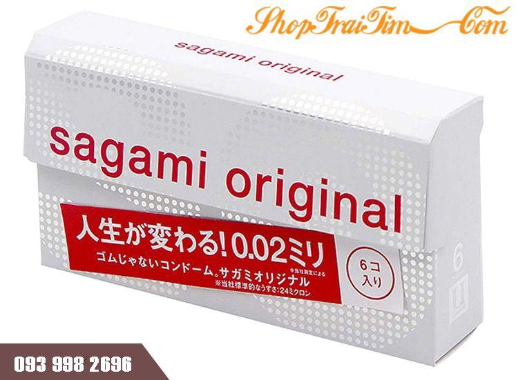 bao cao su siêu mỏng sagami original 0.02 hàng nhật bản 5