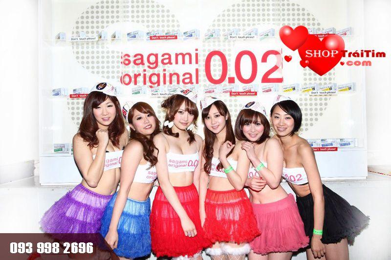 hướng dẫn sử dụng bao cao su sagami original