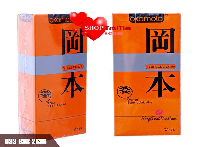 okamoto orange phủ nhiều gel