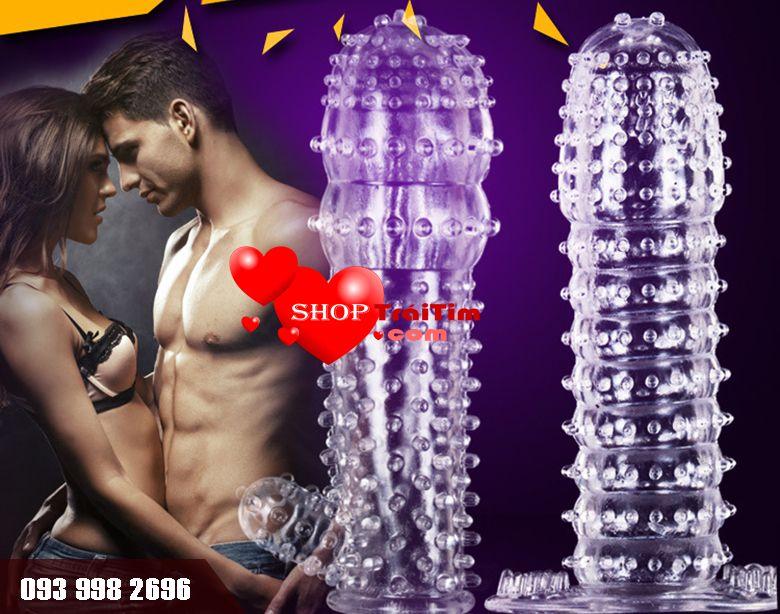 shop trai tim giới thiệu bao cao su đôn dên siêu gai cao cấp