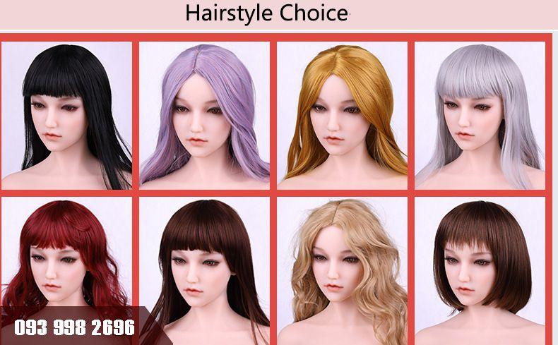 búp bê sophia có thể lựa chọn màu da kiểu tóc theo sở thích