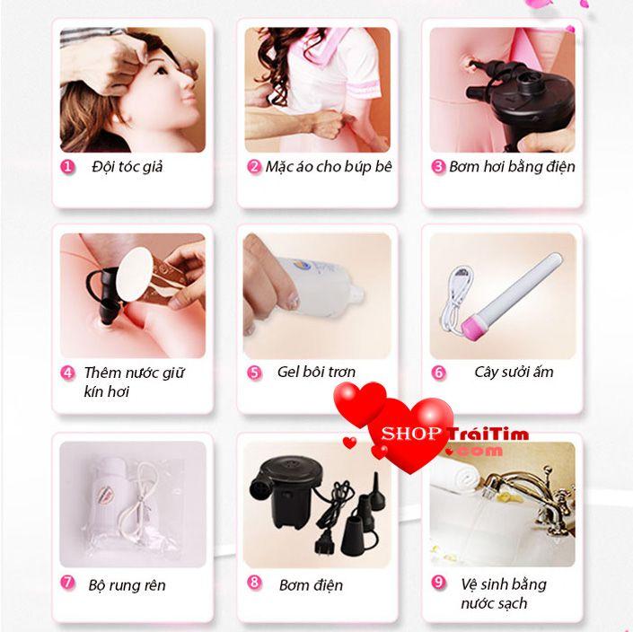 hướng Dẫn Sử Dụng Búp Bê Tình Dục Baby Doll