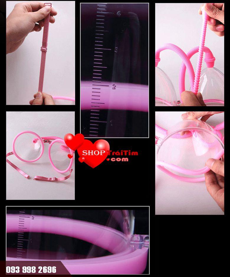 máy tập to nâng ngực Baile Breast Enhancement Cup phù hợp nàng ngực nhỏ chảy xệ sau sinh