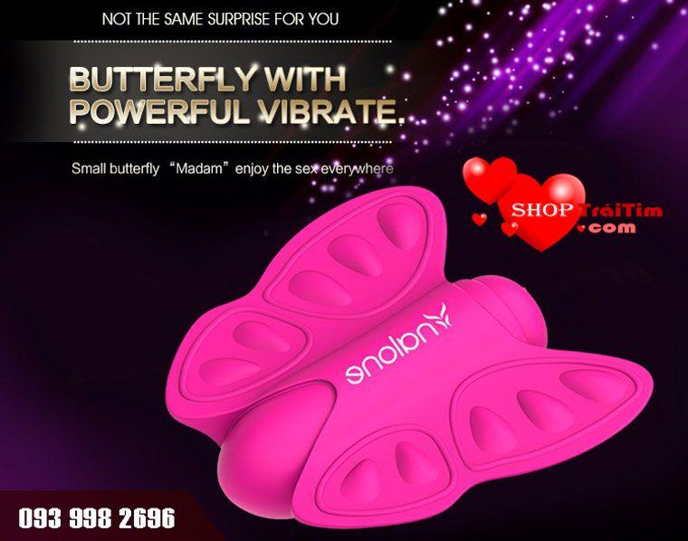 bướm rung Butterfly Madam dùng kích thích âm vật