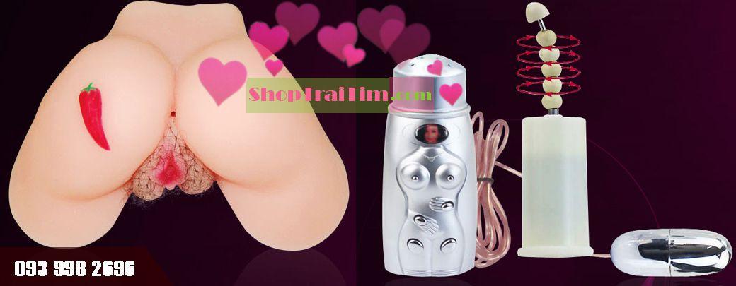 đồ chơi tình dục cho nam trang bị động cơ rung đa tần số