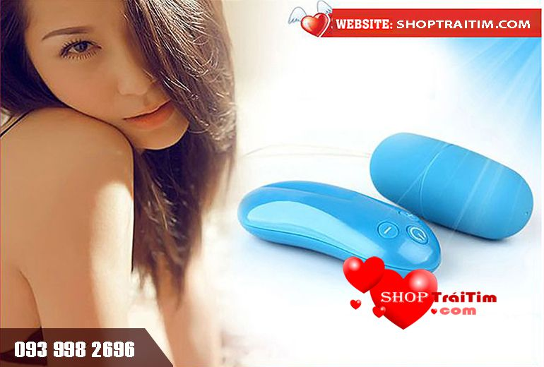 đồ chơi tình dục cho nữ trứng rung không dây love heart