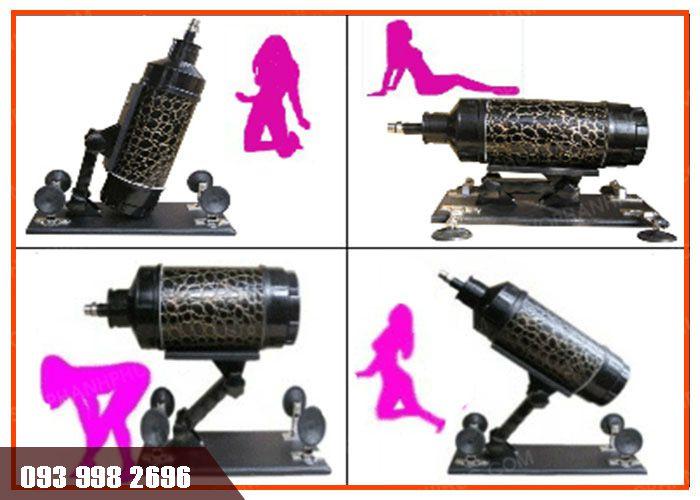 đồ chơi tình dục máy làm tình gun power điều chỉnh dễ dàng