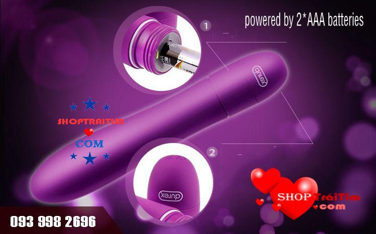 đồ chơi tình dục v vibe durex sử dụng 2 pin aaa