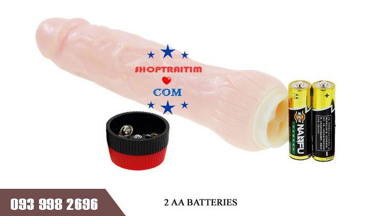 máy massage tình dục dương vật giả rockin sử dụng 2 pin aa