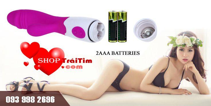 máy mát xa prety love super vibrator 30 tần số rung 8