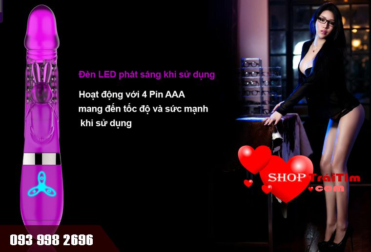 violet level sử dụng 4 pin aaa