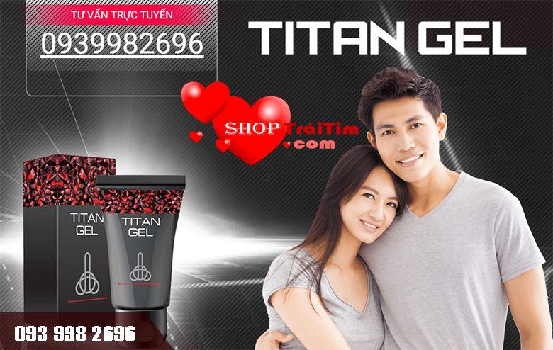 gel titan được đông đảo nam giới tin dùng
