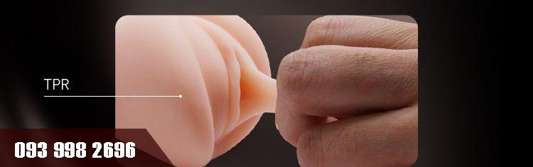 chất liệu silicone siêu mềm cho cảm giác như thật