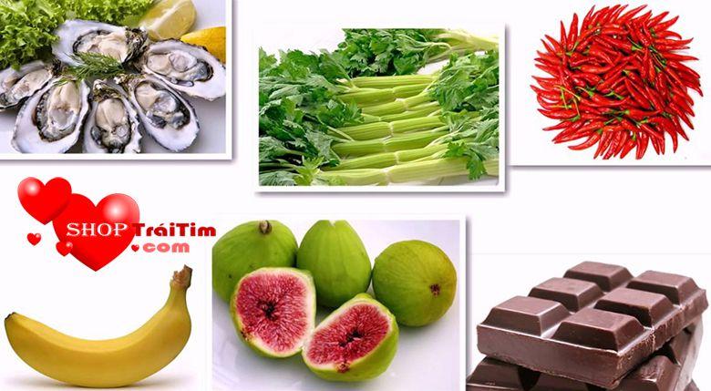 chế độ ăn uống nhiều rau xanh giúp quan hệ lâu ra