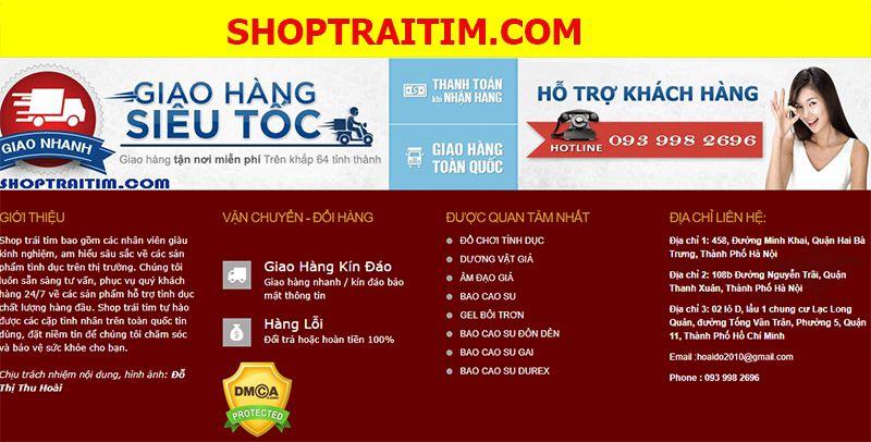 vì sao nên chọn shoptraitim.com