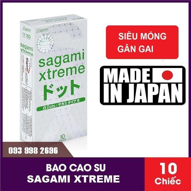Bao cao su Sagami Xtreme Dot Phiên Bản Mới