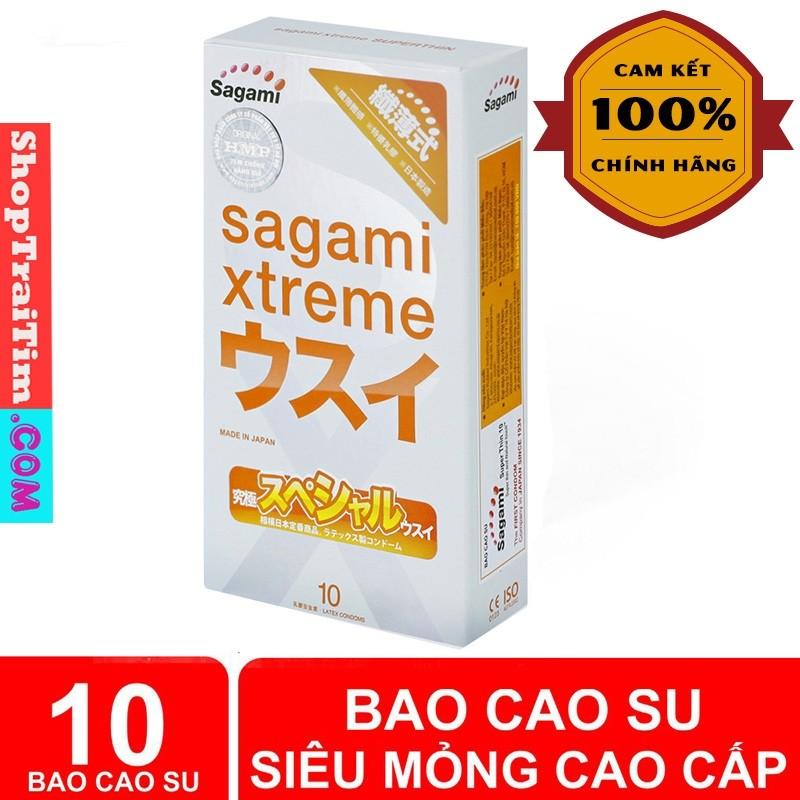 bao cao su sagami super thin