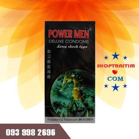 bao cao su power men cá ngựa shoptraitim.com