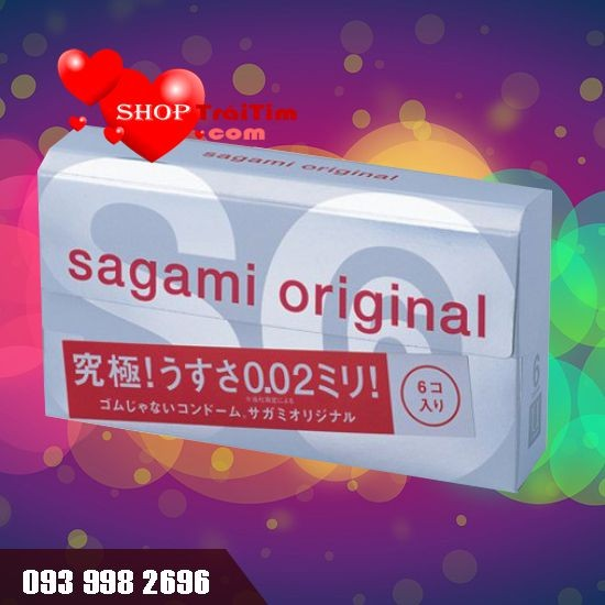 Bao Cao Su Sagami Original 0.02 Quick siêu mỏng
