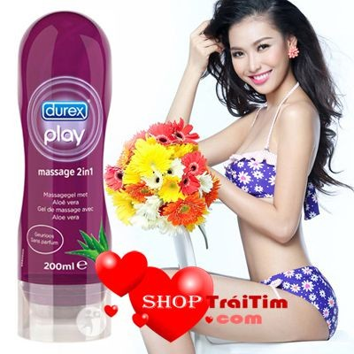 gel bôi trơn durex play massage 2in1