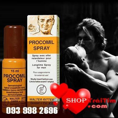 thuốc xịt trị xuất tinh sớm Procomil Spray