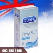 bao cao su Durex Invisible Extra Thin siêu mỏng
