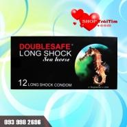 bao cao su kéo dài thời gian quan hệ Double Safe Longshock