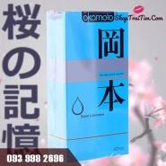 Bao Cao Su Okamoto Skinless Skin Super Lubricative đặc điểm nhiều gel bôi trơn