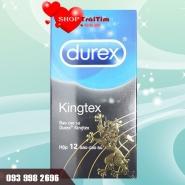 bao cao su size nhỏ durex kingtex