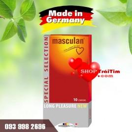 Bao cao su Masculan - gân gai nhiều, kéo dài thời gian quan hệ - hàng nhập khẩu Đức