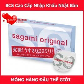 Hàng Siêu Cấp Dành Cho Dòng Bao Cao Su Siêu Mỏng Sagami Original 0.02 Hộp 6 Chiếc (Một Trong Những Dòng Bao Mỏng Nhất Thế Giới, Chống Dị Ứng - Xuất Xứ Nhật Bản)