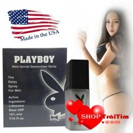 Kéo Dài Thời Gian Quan Hệ Với Chai Xịt Trị Xuất Tinh Sớm PlayBoy