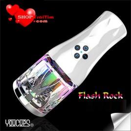 Âm đạo giả rung đa năng YouCup Flash Rock