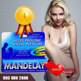 Gel bôi trơn kéo dài thời gian quan hệ Mandelay - Sự kết hợp hoàn hảo cho cuộc yêu ngọt ngào nhất