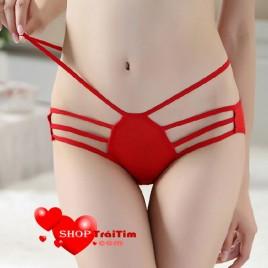 Nội y nhện đỏ - Quần lót chất liệu cotton với thiết kế siêu đẹp mắt
